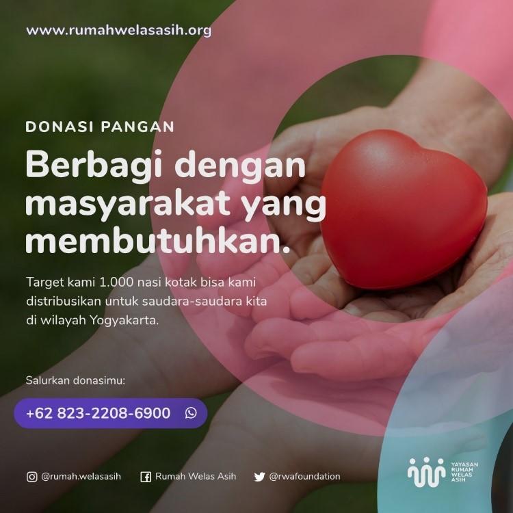 Berbagi Berkah : Berbuka Puasa Nasi Kotak untuk Kaum Dhuafa Wilayah Yogyakarta