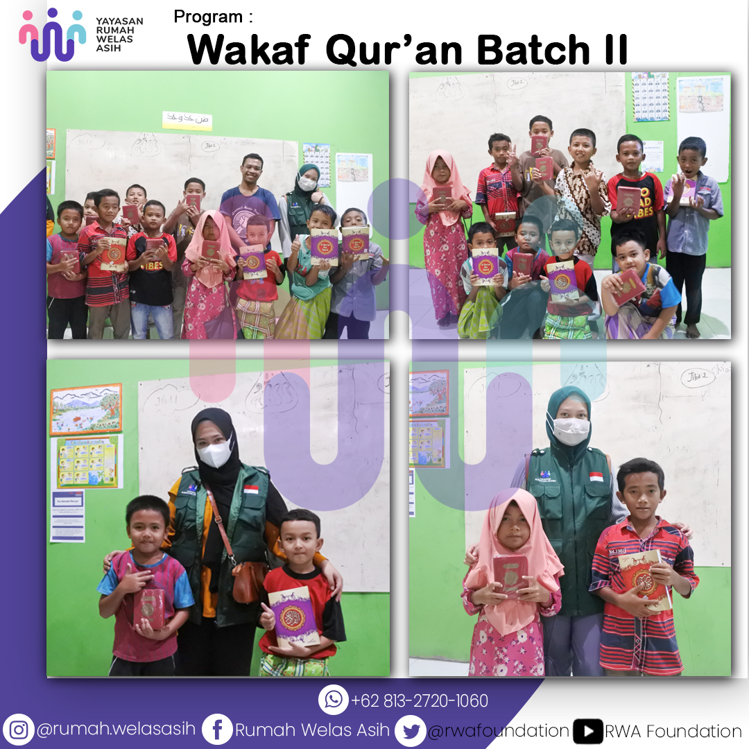 Wakaf Qur'an ke Pesisir Pantai Selatan Yogyakarta